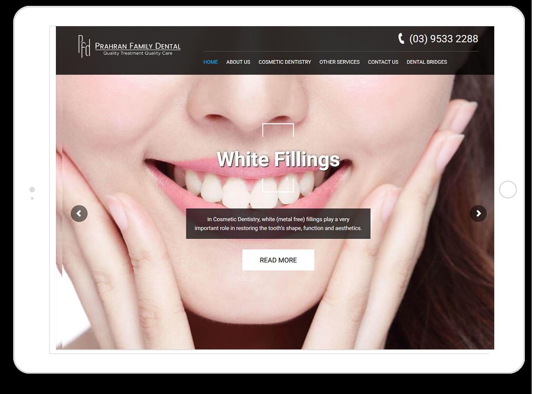 platinum-web-design-prahrandentist-ipad
