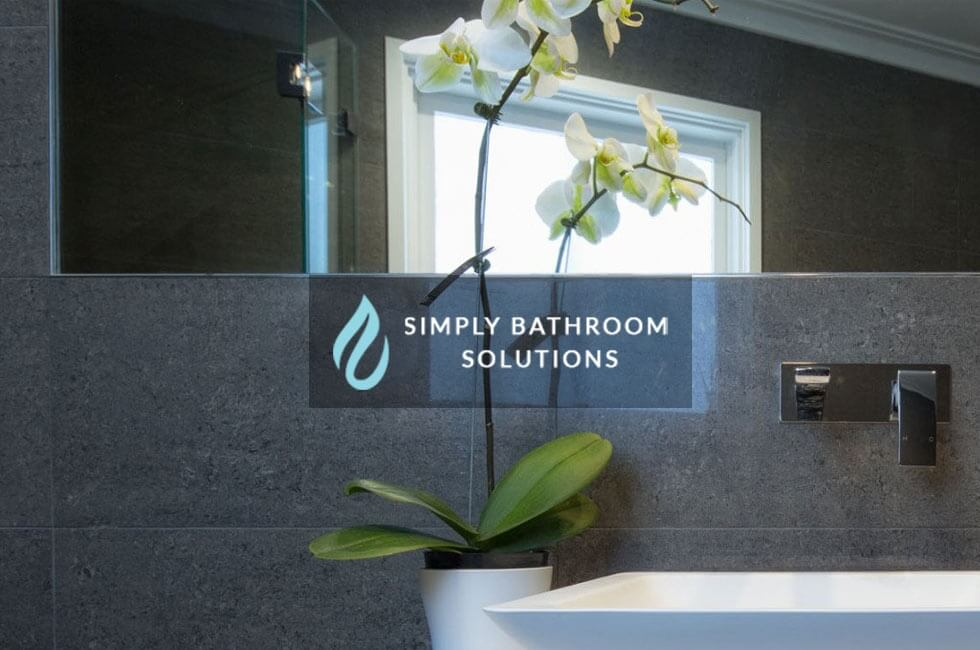 Simply bathroom